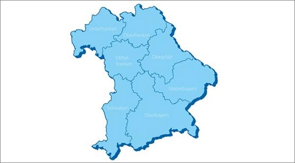 Die Bezirke